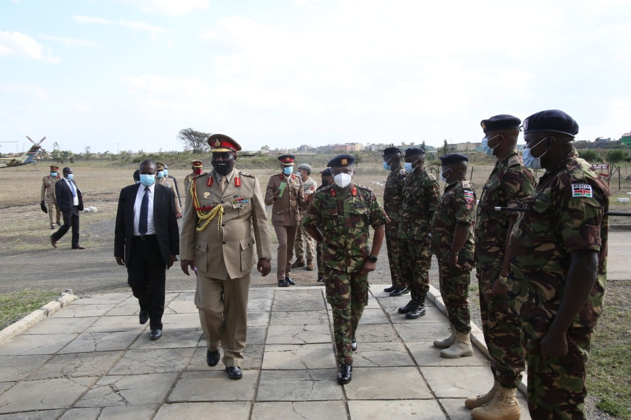 VISIT TO HPSS BY COMMANDER - MALAWI DEFENCE FORCES